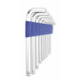 9pcs Long & Ertra Long Arm Hex or Ball Wrench