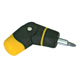 4-In-1 Stubby Angle Ratchet Screwdriver