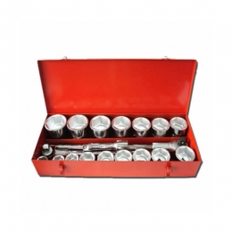 21pcs 1 inch Dr Socket Set