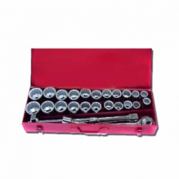 27pcs 3/4 inch  Dr Socket Set