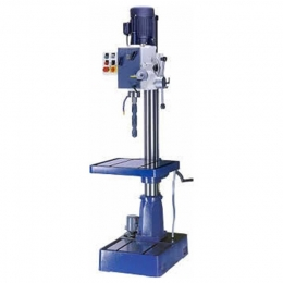 Gear Head Floor Type Mill/Drill with PF & Coolant Base