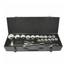 21pcs 3/4 inch Dr Socket Wrench Set