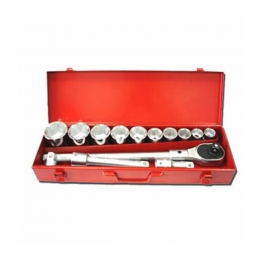 15pcs  3/4 inch Dr Socket Set