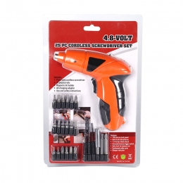 Easy Access DIY Cordless Screwdriver Set
