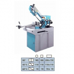 Metal Cutting Band Saw (Auto Cut)