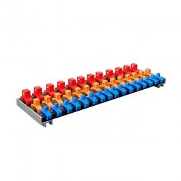 3 Rails of Socket Holder Tray