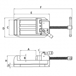 Guide Rail Jaw Vise