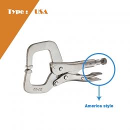 Regular Tips Locking C-Clamp (U.S.A Type)