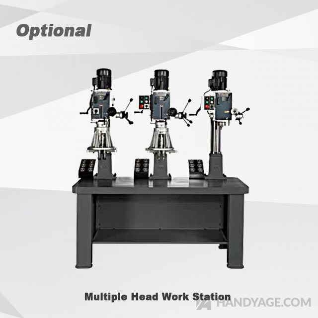 Geared Head Drill & Mill Machine