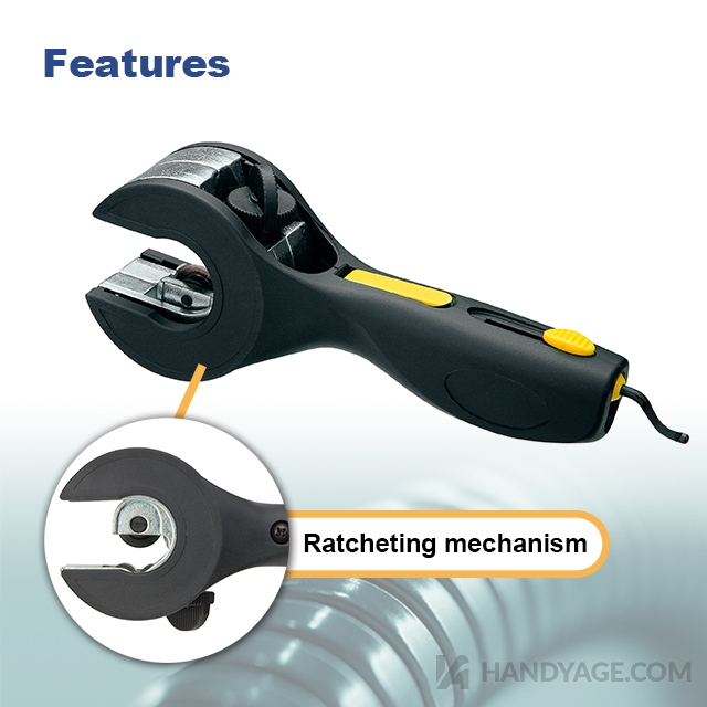 Ratcheting Copper Tube Cutter